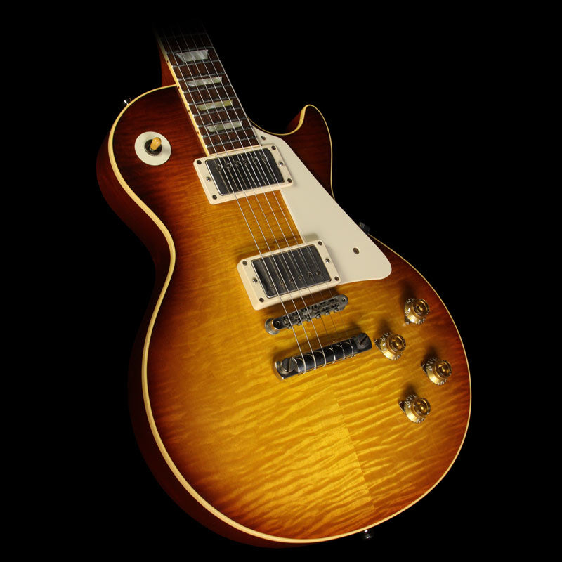 "Used Steve Miller Collection Gibson Custom Shop Billy Gibbons ""Pearly Gates"" '59 Les Paul VOS Electric Guitar Billy Gibbons Burst"
