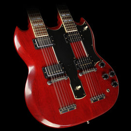 Used Steve Miller Collection Gibson Custom Shop Jimmy Page EDS-1275 Double Neck VOS Electric Guitar Electric Guitar Heritage Cherry