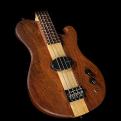 Used 2016 Birdsong D'Aquila Decobass Custom Short Scale Electric Bass Natural