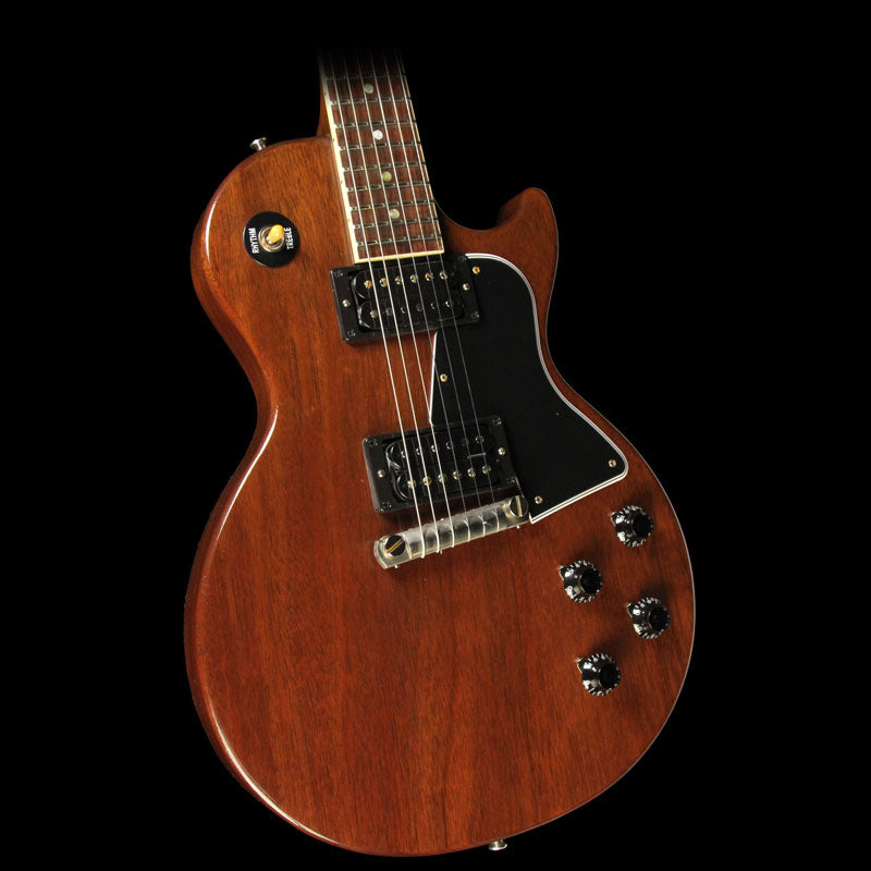 Gibson Custom Shop Music Zoo Exclusive Roasted Les Paul Special Electric Guitar Natural Coffee Roast 7528