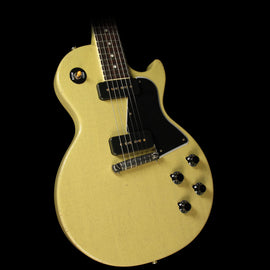 Gibson Custom Shop Music Zoo Exclusive Roasted 1960 Les Paul Special Singlecut Reissue Electric Guitar TV Yellow