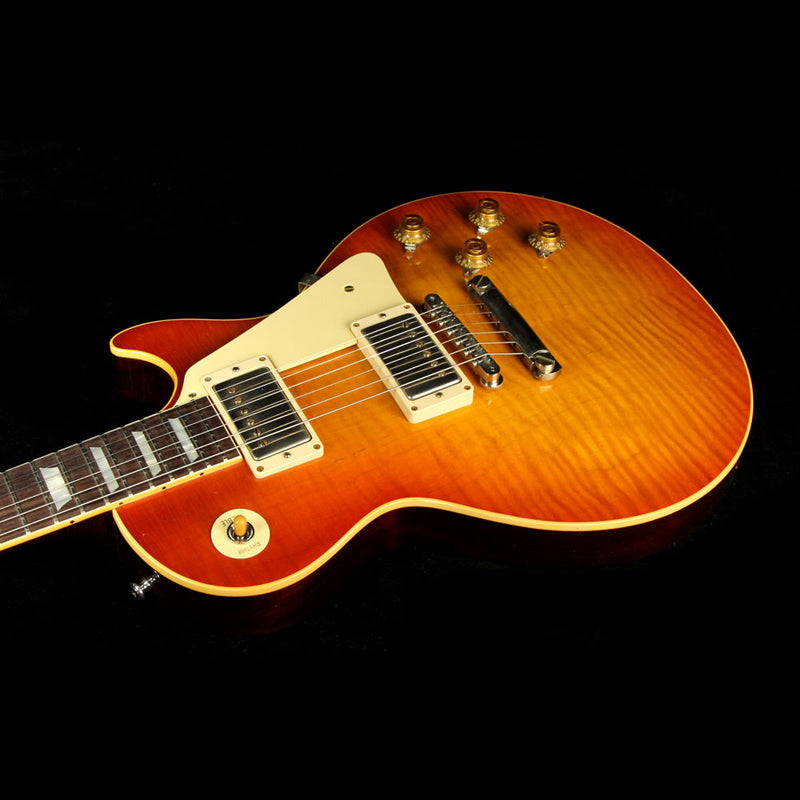 Used Gibson Custom Shop Standard Historic 1959 Les Paul Reissue Roasted Lightly Aged Electric Guitar BoTB Page #137 Burst 97687