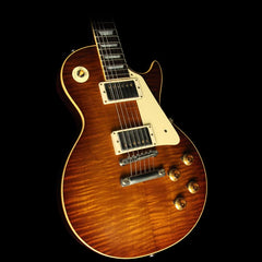 Gibson Custom Shop Music Zoo Exclusive Roasted Standard Historic 1959 Les Paul Reissue Electric Guitar Iced Tea
