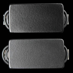 Bare Knuckle Nailbomb Humbucker Pickup Set Black Covers