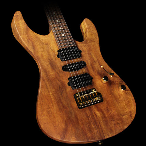 Used 2015 Suhr Modern Curly Koa Electric Guitar Natural Oil