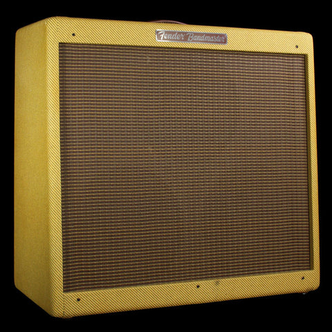 "Used 2014 Fender Bandmaster 3x10"" Reissue Guitar Combo Amplifier"