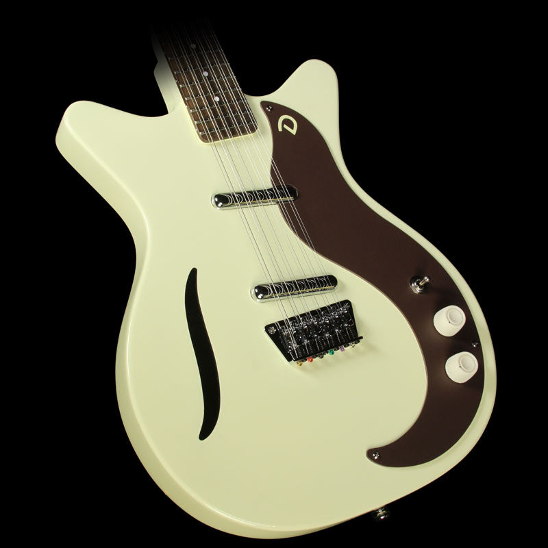 Danelectro '59 Vintage 12-String Electric Guitar Vintage White
