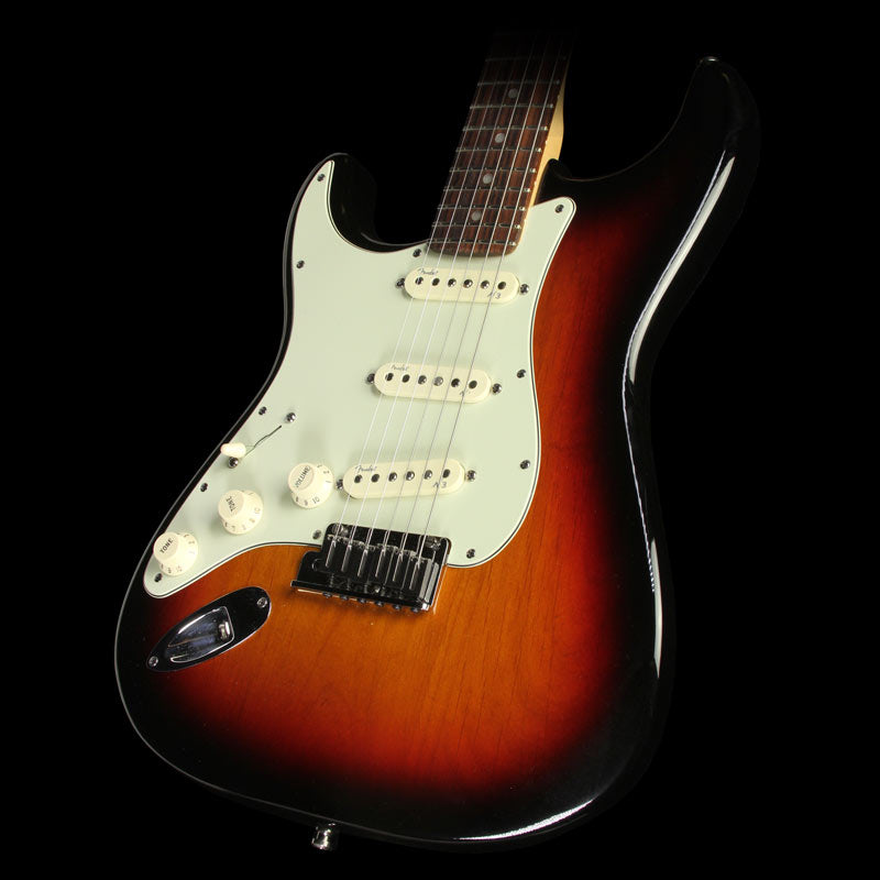 Used 2012 Fender American Deluxe Stratocaster Left-Handed Electric Guitar 2-Tone Sunburst