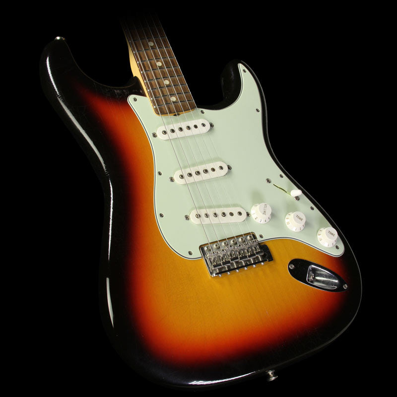 Used 2014 Fender Custom Shop '64 L-Series Stratocaster Closet Classic Electric Guitar 3-Tone Sunburst