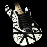 Used 2005 Charvel EVH Art Series Electric Guitar Black & White