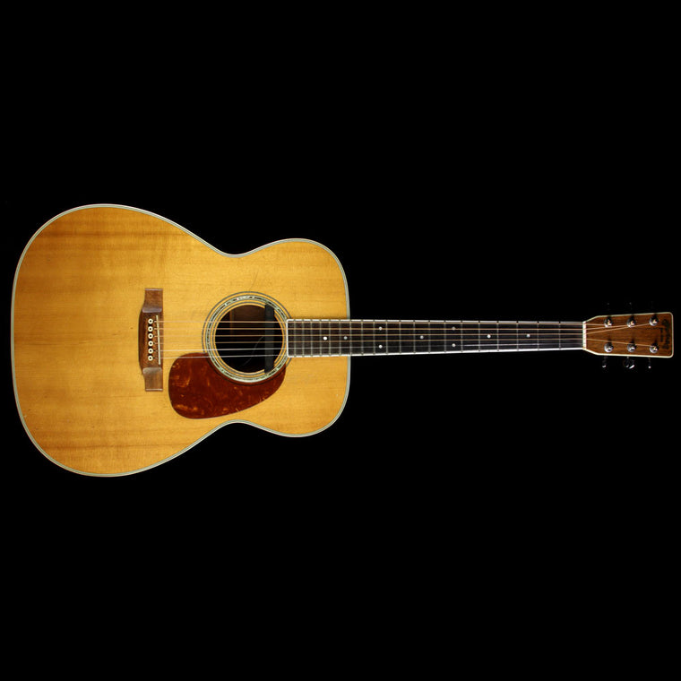 Used 1977 Martin M-38 Acoustic Guitar Natural