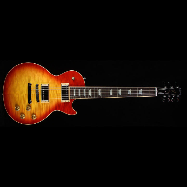Used 2016 Gibson Les Paul Standard 7-String Electric Guitar Heritage Cherry Sunburst LPS716HSCH1