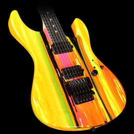 Suhr '80s Shred Modern Electric Guitar Neon Drip