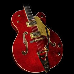Gretsch G6136TFM-DCHY Limited Edition Falcon Electric Guitar Dark Cherry Stain