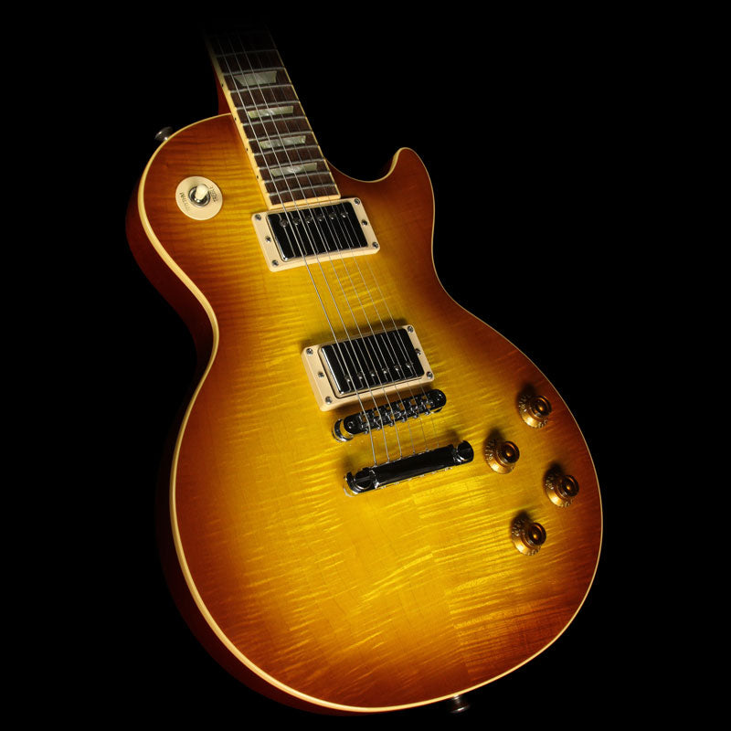 Used 2008 Gibson Les Paul Standard Plus Electric Guitar Iced Tea