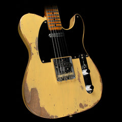 Fender Custom Shop 1951 Nocaster Roasted Ash Heavy Relic Electric Guitar Butterscotch Blonde
