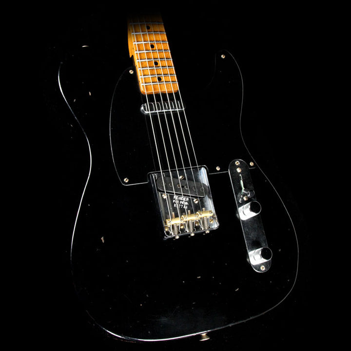 Fender Custom Shop 1951 Nocaster Journeyman Relic Electric Guitar Black R17744