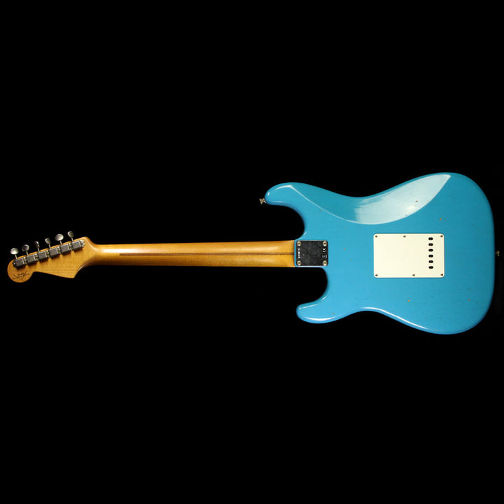 Fender Custom Shop '56 Stratocaster Journeyman Relic Electric Guitar Taos Turquoise R89024