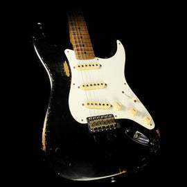 Fender Custom Shop Masterbuilt Paul Waller '59 Stratocaster Heavy Relic Roasted Alder Electric Guitar Black