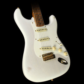 Fender Custom Shop Masterbuilt Greg Fessler '58 Stratocaster Journeyman Relic Roasted Ash Electric Guitar Mary Kaye Blonde