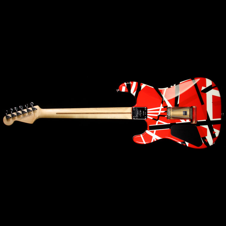 Used Charvel EVH Art Series Electric Guitar Red, Black & White