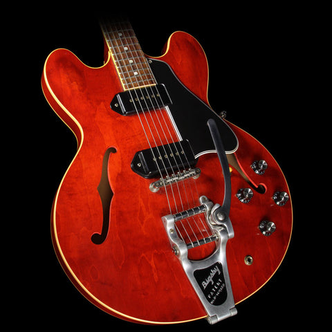 Used 2012 Gibson Custom Shop ES-330 VOS Electric Guitar with Bigsby Vintage Cherry