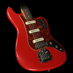 Fender Custom Shop Bass VI Journeyman Relic Electric Bass Dakota Red