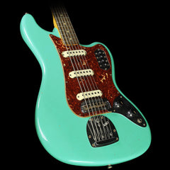 Fender Custom Shop Bass VI Journeyman Relic Electric Bass Seafoam Green Metallic