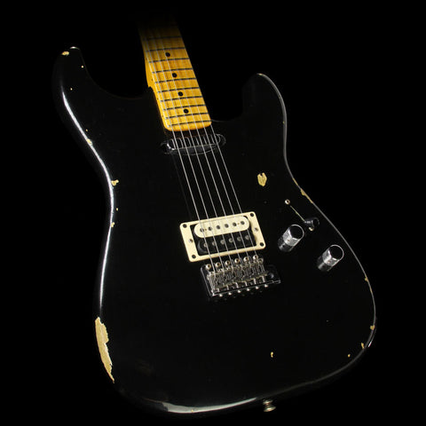 Fender Custom Shop 2016 Limited Edition Relic H/S Stratocaster Electric Guitar Aged Black