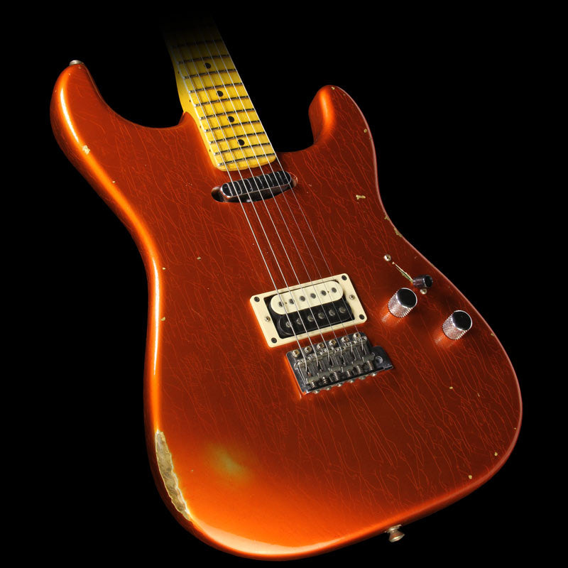 Fender Custom Shop 2016 Limited Edition Relic H/S Stratocaster Electric Guitar Aged Candy Tangerine