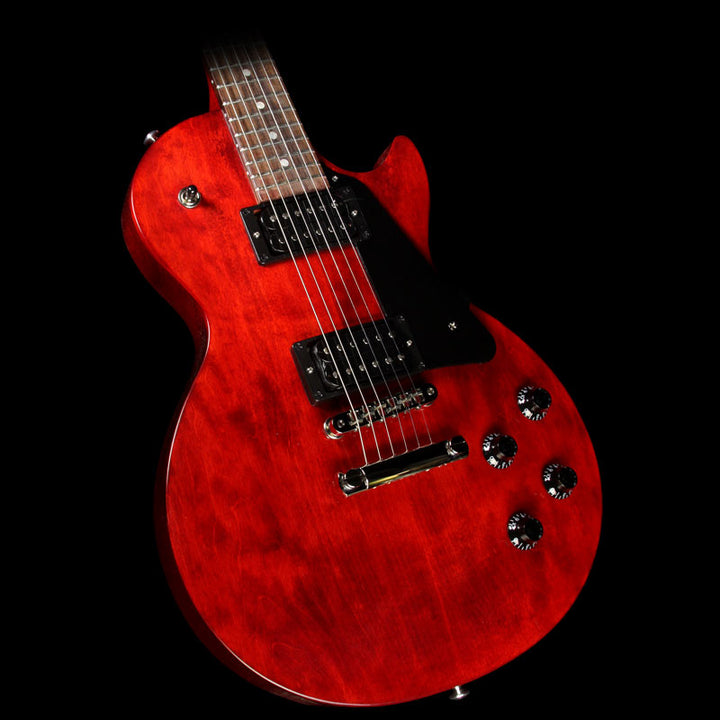 Used 2017 Gibson Les Paul Faded T Electric Guitar Worn Cherry LPF17WCNH2