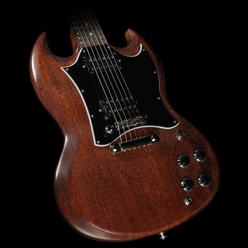 Used 2017 Gibson SG Faded T Electric Guitar Worn Brown
