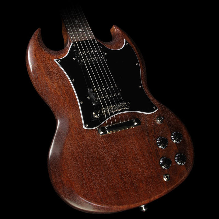 Used 2017 Gibson SG Faded T Electric Guitar Worn Brown SGF17WBNH2