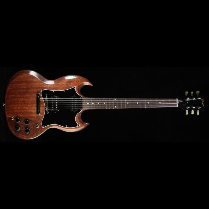 2017 Gibson SG Faded T Electric Guitar Worn Brown SGF17WBNH1