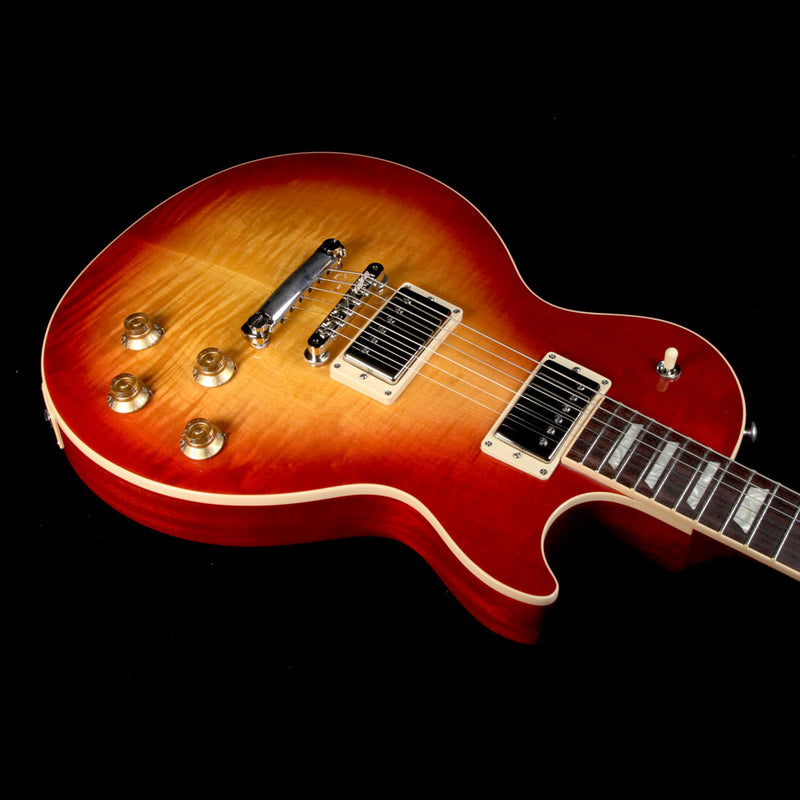 Used 2017 Gibson Les Paul Traditional T Electric Guitar Heritage Cherry Sunburst 170091492