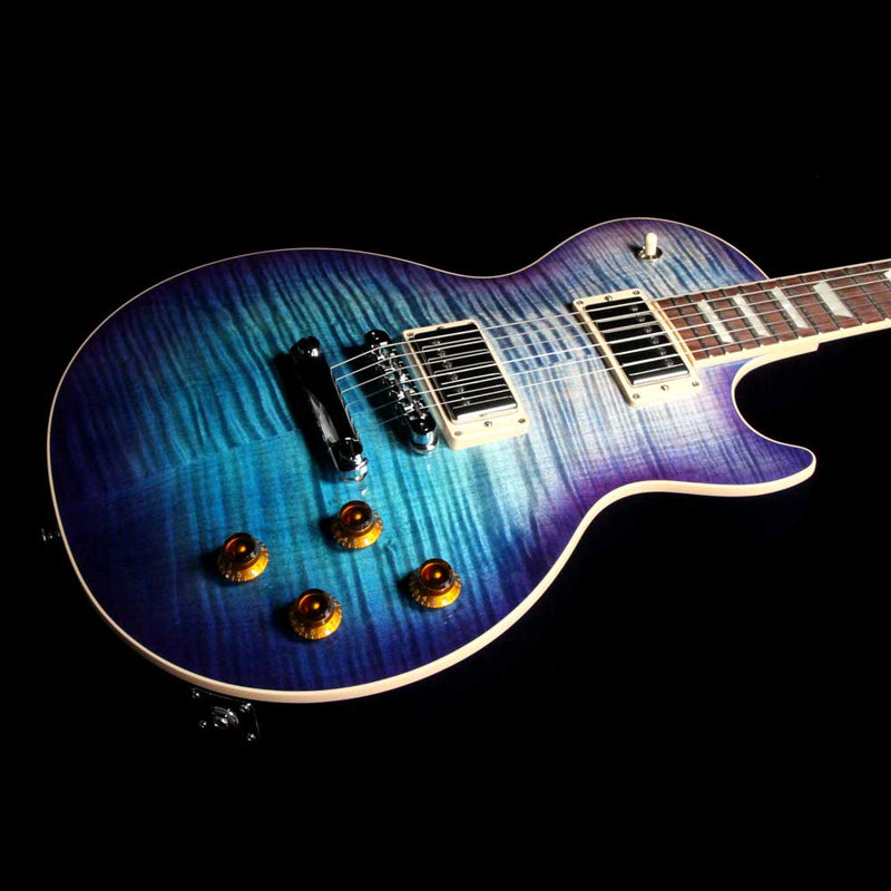 2017 gibson les paul standard t electric guitar blueberry burst the music zoo. Black Bedroom Furniture Sets. Home Design Ideas