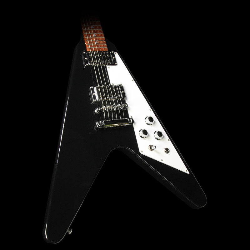 Used 2017 Gibson Flying V HP Electric Guitar Ebony 170072440