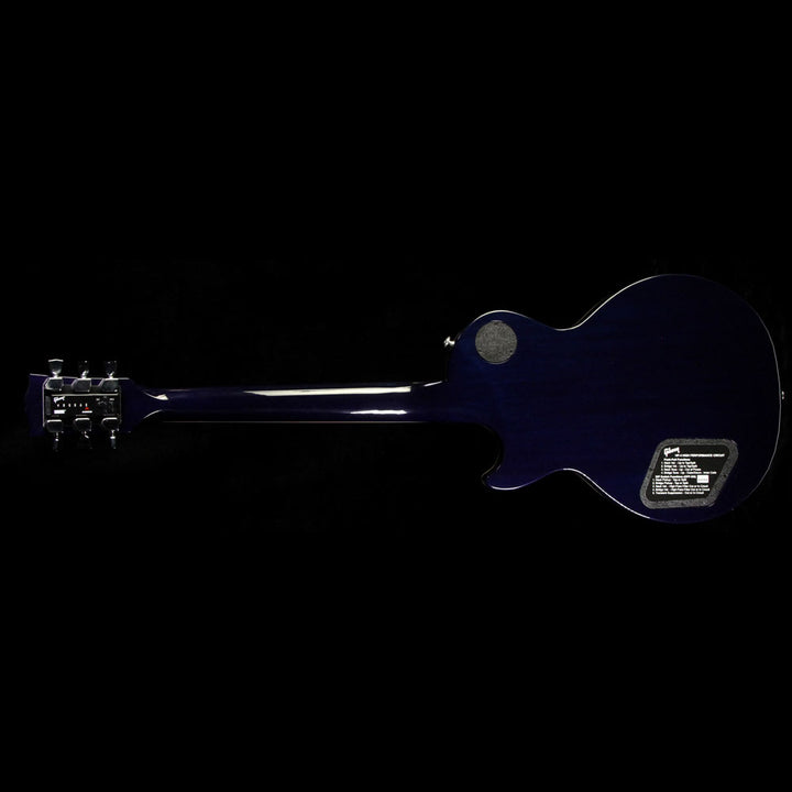 2017 Gibson Les Paul Standard HP Electric Guitar Blueberry Burst 170091161