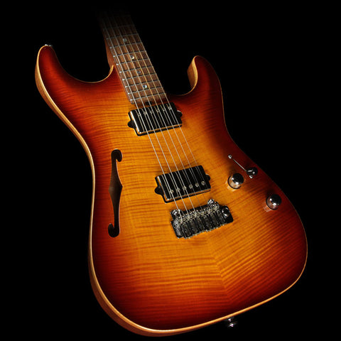 Used 2007 Suhr Archtop Standard Electric Guitar Aged Cherry Burst
