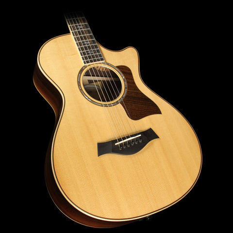 Used 2015 Taylor 812ce 12-Fret Grand Concert Brazilian Rosewood Acoustic/Electric Guitar Natural