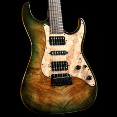 Suhr Standard Faded Trans Green Burst