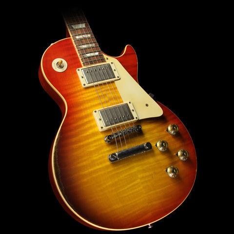 Used 2008 Gibson Custom '59 Les Paul Murphy Aged Electric Guitar Washed Cherry
