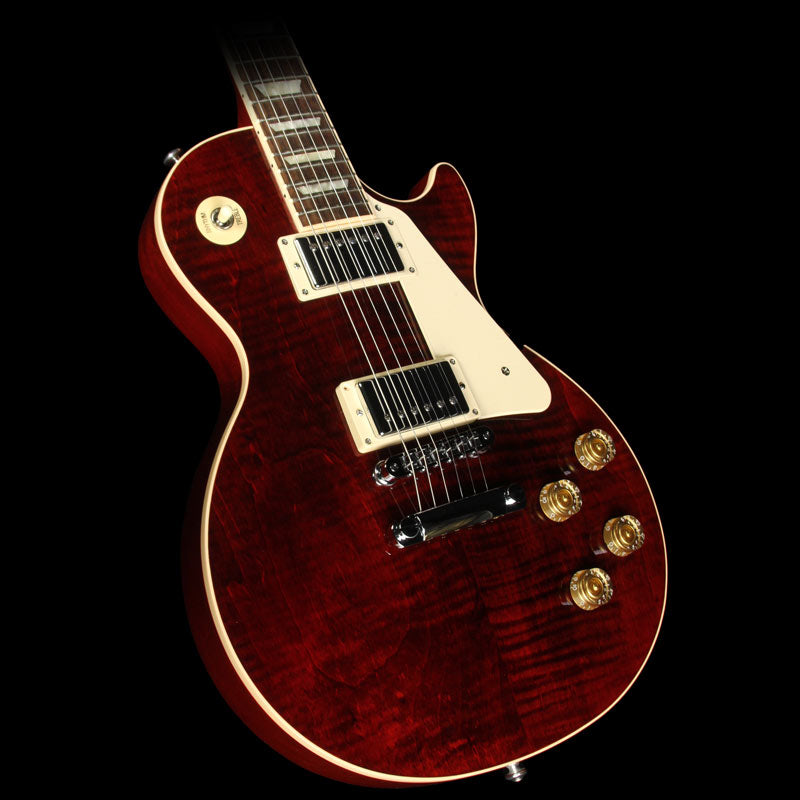 2016 Gibson Les Paul Traditional Premium Electric Guitar Wine Red