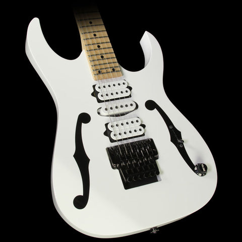 Used 2009 Ibanez PGM300RE Paul Gilbert Signature Electric Guitar White