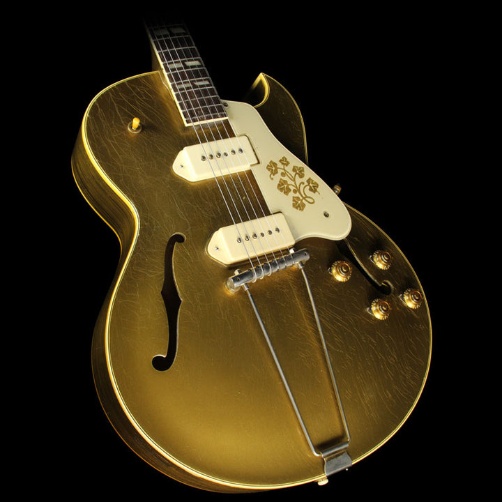 used 1956 gibson es 295 archtop electric guitar gold the music zoo. Black Bedroom Furniture Sets. Home Design Ideas
