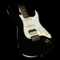 Used 2015 Fender American Elite Stratocaster HSS Electric Guitar Black