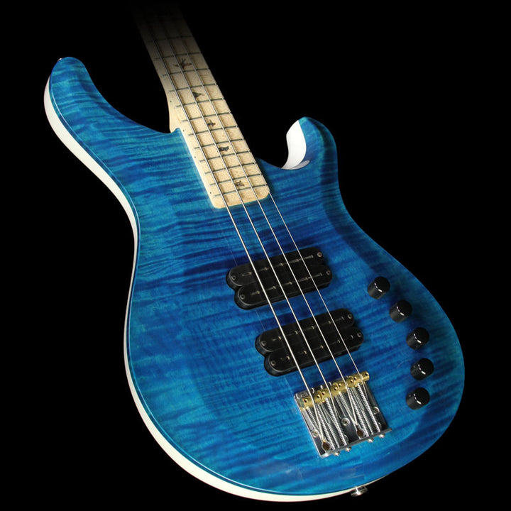 used paul reed smith gary grainger electric bass faded whale blue the music zoo. Black Bedroom Furniture Sets. Home Design Ideas