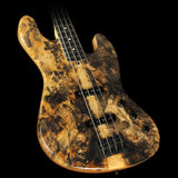 Used 2015 Suhr Custom Classic Buckeye Burl Electric Bass Natural