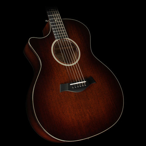 Taylor 524ce All-Mahogany Grand Auditorium Cutaway Left-Handed Acoustic-Electric Guitar