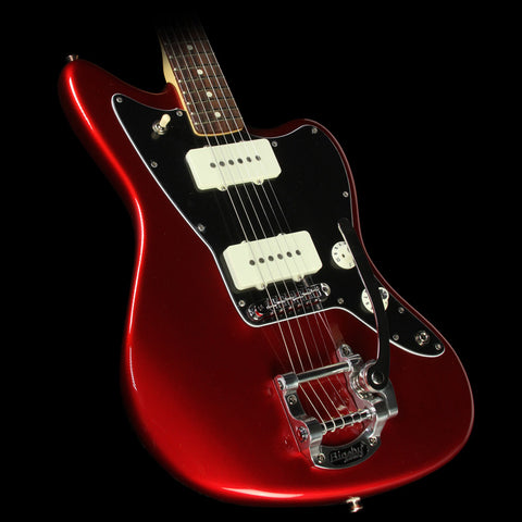 Fender Limited Edition American Special Jazzmaster with Bigsby Electric Guitar Candy Apple Red